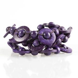 Cancun Catch - Purple Bracelet